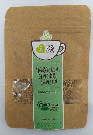 Chá Maracujá Gengibre e Canela