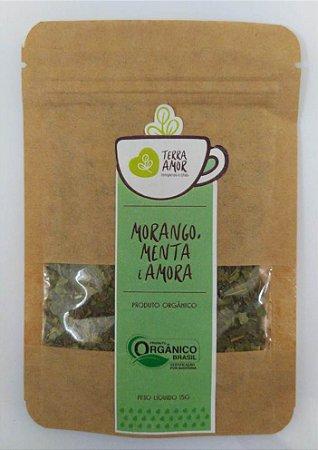 Chá Morango Menta e Amora