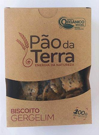 Biscoito salgado de gergelim - 100gr