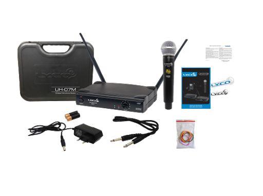 Microfone Lyco Sem Fio De Mão UH-07M
