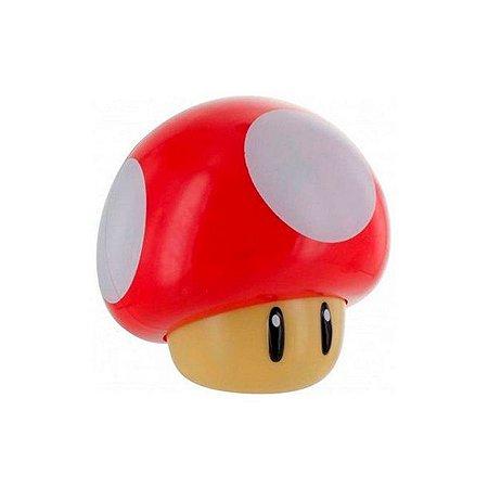 Luminária Paladone Super Mario Bros Light 3D Mushroom