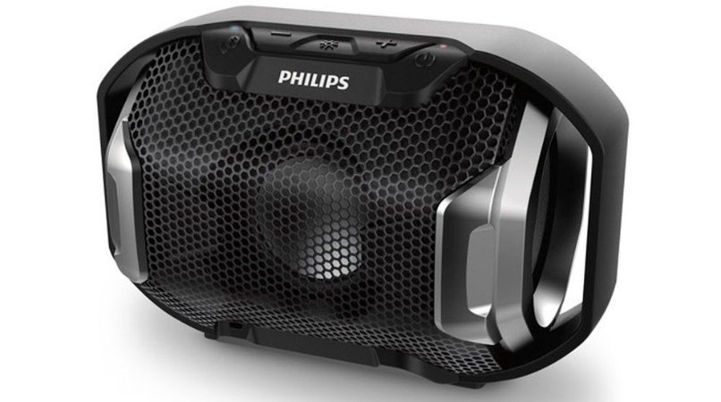 Caixa De Som Philips Sb300 Bluetooth Preto
