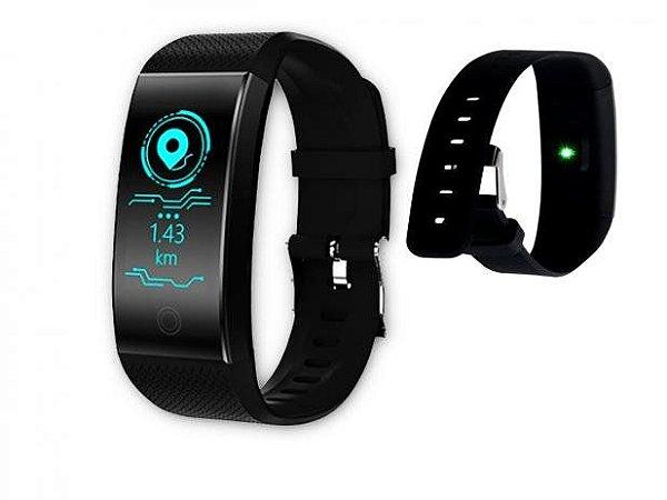 Pulseira Inteligente Relógio Bluetooth OEX Ps200 Preto