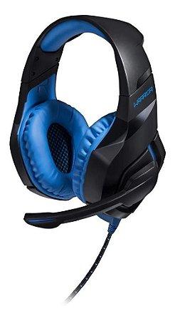 Headset Gamer Warrior Straton USB Com Led Azul - Ph244