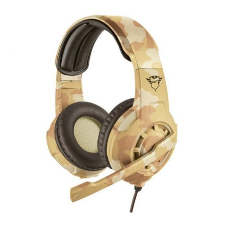 Headset Gamer Trust Gxt310d Radius Desert Camo, T22208