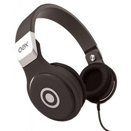 Headset com Microfone OEX HP102 - preto