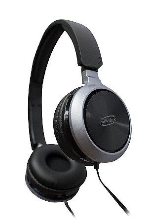 Headset Premium HS115 Preto - NewLink