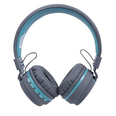 Headset bluetooth hs310 candy azul claro - OEX