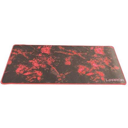 Mouse Pad Para Teclado E Mouse Vermelho Warrior - AC301