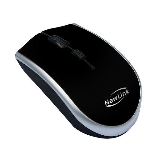 Mouse Sem Fio Start Mo202 - Newlink - Preto