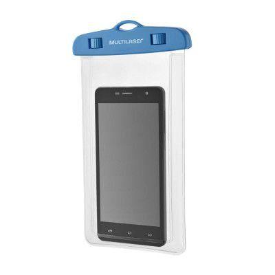 """Capa para celular a  prova d´Agua AC297 5.7"""" - Multilaser"""