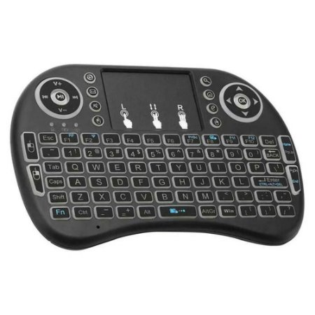 Mini Teclado Sem Fio Touchpad Keyboard Air Mouse Universal  P/ Android Tv, Pc, Notebook e Tv - Ukb-500