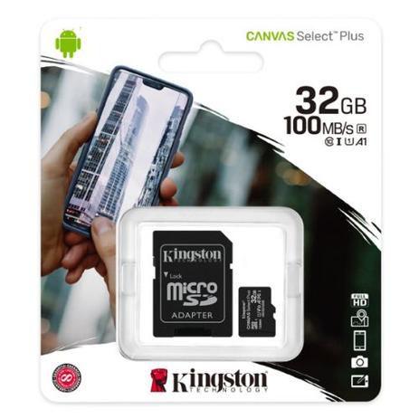 Cartão De Memória Micro Sd 32gb Classe 10 100mb/s Kingston