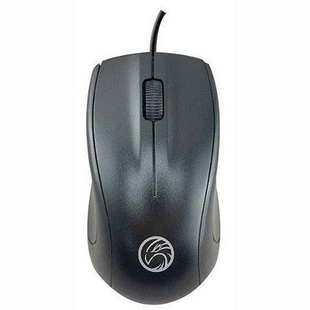 Mouse Usb Óptico Brazil Pc 1000 Dpi Bpc-m201