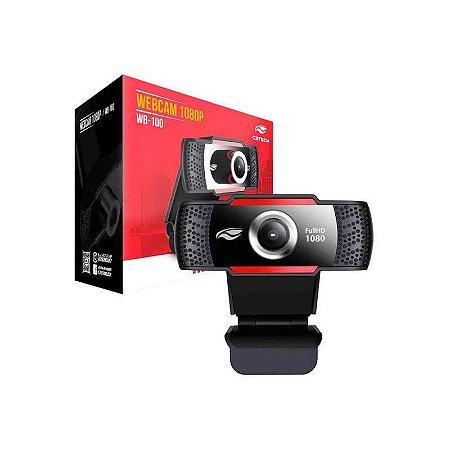 WebCam Full HD 1080p WB-100BK - C3Tech