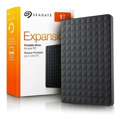 HD Externo Portátil Expansion USB 3.0 1TB Preto - STEA1000400 - Seagate