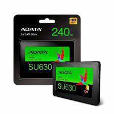SSD SU630 240GB SATA Leitura 520MB/s Gravação 450MB/s - ASU630SS-240GQ-R - Adata