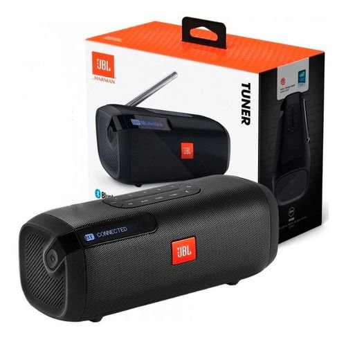Caixa De Som Tuner Fm Com Sintonizador Rádio Fm Bluetooth - JBL