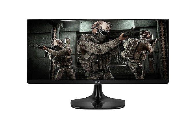 Monitor LED 25'' Gamer MBR 25UM58G 2560 x 1080 UltraWide IPS Full HD 1ms - LG