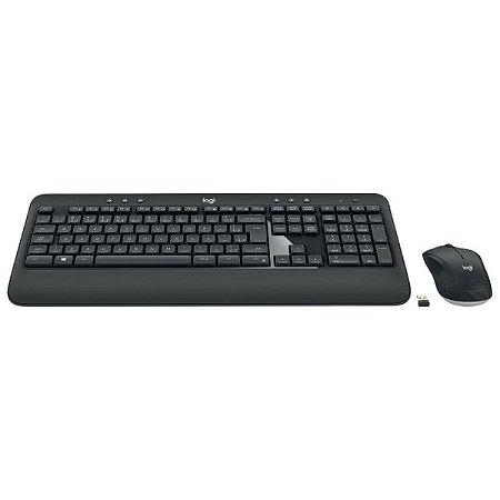 Combo Teclado E Mouse Sem Fio Mk540 Original Com Garantia - Logitech