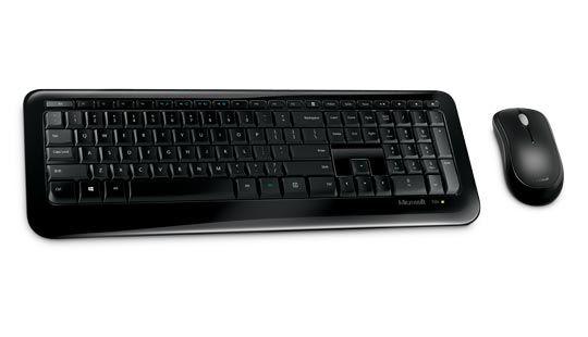 Teclado e Mouse Sem Fio 850 ABNT 2 - PY900021 - Microsoft