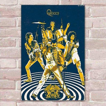 Placa Decorativa Queen 1