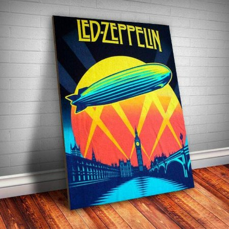 Placa Decorativa Led Zeppelin 6
