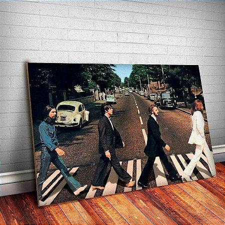 Placa Decorativa Beatles 7 Foto Clássica