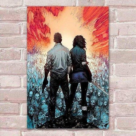 Placa Decorativa The Walking Dead 32