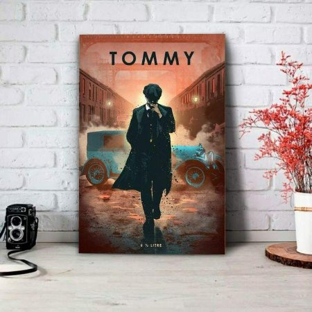 Placa Decorativa Peaky Blinders Tommy