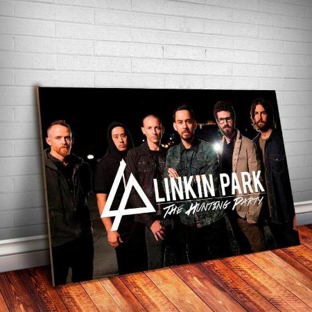 Placa Decorativa Linkin Park 14