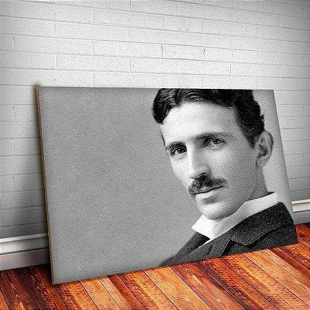Placa Decorativa Nikola Tesla 1