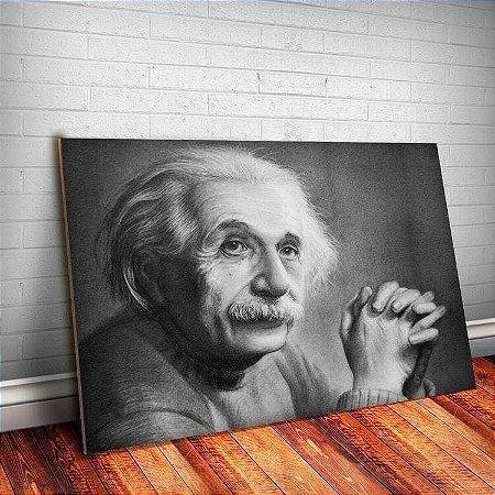 Placa Decorativa Einstein 1