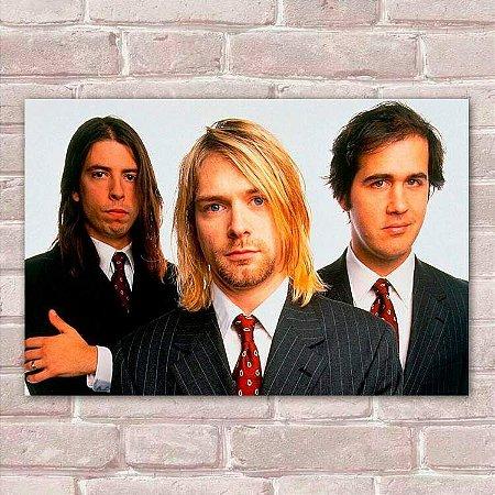 Placa Decorativa Nirvana 3