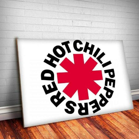 Placa Decorativa Red Hot Chili Peppers 7