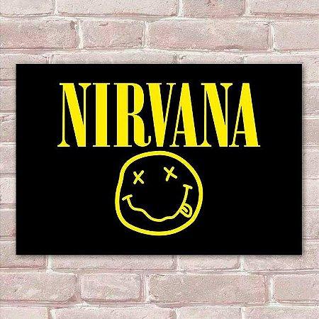 Placa Decorativa Nirvana 2