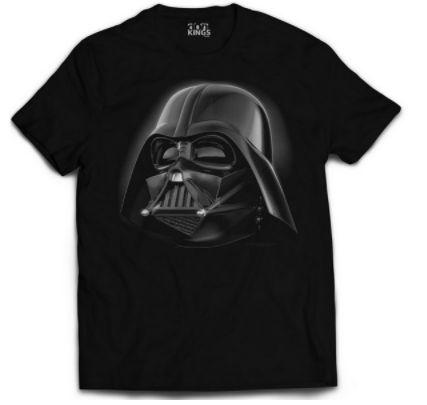 Camiseta Star Wars - Darth's head