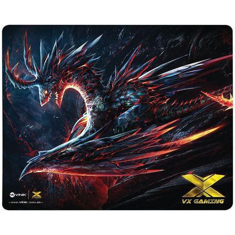 Mouse pad gamer vx gaming dragon 320x270x2mm - Viniki
