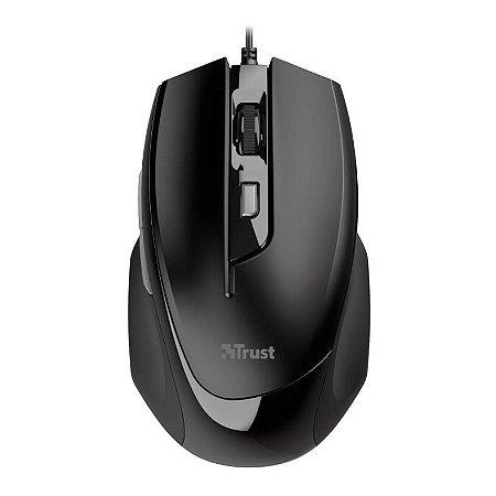 Mouse comfort voca 2400dpi 5 botoes preto t23650 - Trust