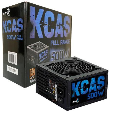 Fonte 500W 80 Plus Bronze KCAS-500W EN53367 - Aerocool