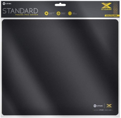 Mouse pad vx gamer standard – 320x270x2mm - VINIK
