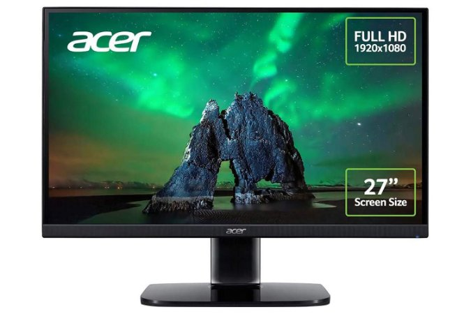 Monitor Gamer 27´ Full HD - KA272A - Acer
