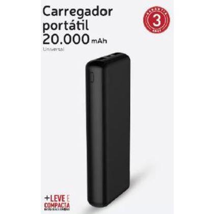 CARREG.PORT.XTRAX 20.000MAH COMPACTO PTO