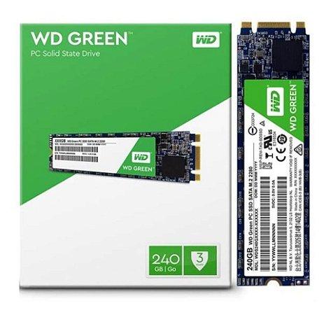 SSD M2 2280 WD GREEN 240GB SATA 3 3D WDS240G2G0B