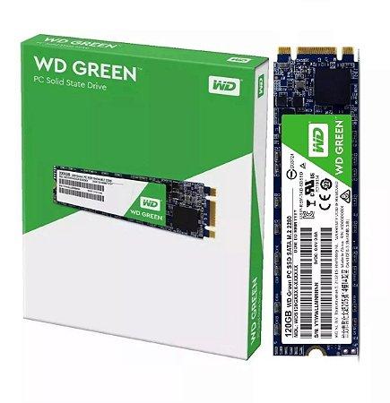 SSD M2 2280 WD GREEN 120GB SATA 3 3D WDS120G2G0B