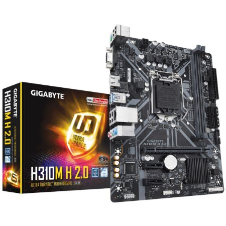 PLACA MAE INTEL GIGABYTE H310M H 20 DDR4 LGA 1151 8 E 9 GERA