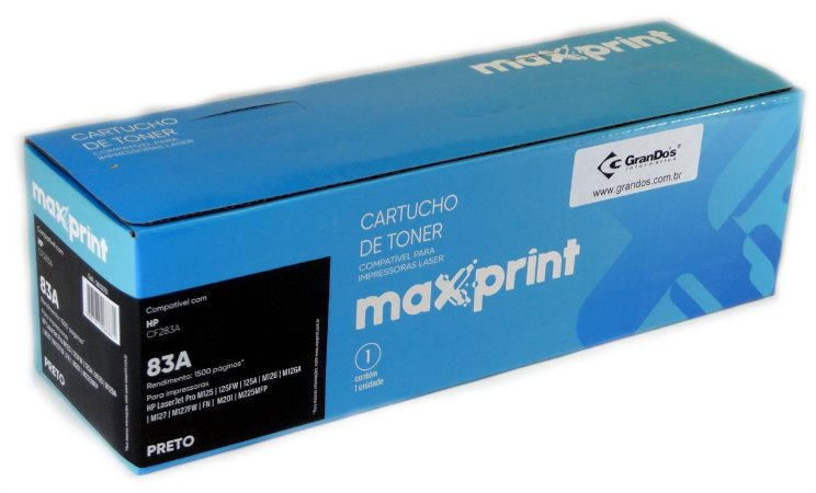 CART TONER MAXPRINT COMP HP BLKG CF283A MAX 1 PC