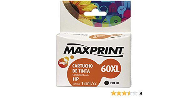 CART IMPR MAXPRINT COMP HP BLKG CC641WL 60XL MAX 1 PC