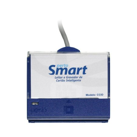 LEITOR DE CERTIFICADO DIGITAL (SMART CARD) PERTOSMART PS-100