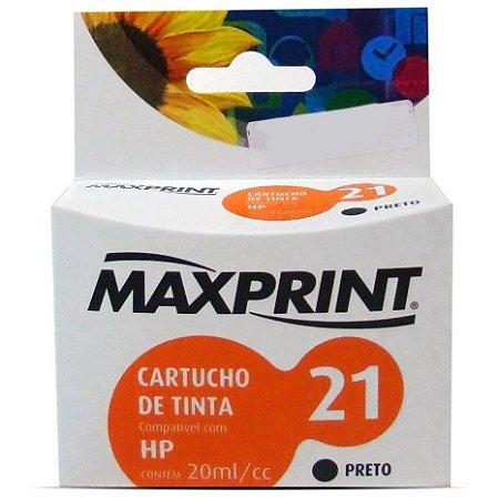 CART IMPR MAXPRINT COMP HP BLKG C9351A N.21 MAX 1 PC